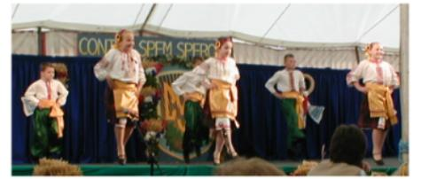 Young Krylati dancers