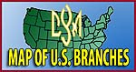 Map of CYM branches in the US